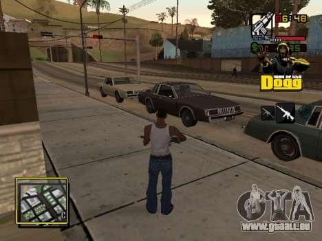 C-HUD Snoop Dogg pour GTA San Andreas deuxième écran