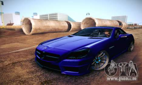 Mercedes Benz SLK55 AMG 2011 für GTA San Andreas