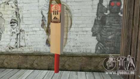 Adidas Cricket Bat pour GTA San Andreas deuxième écran