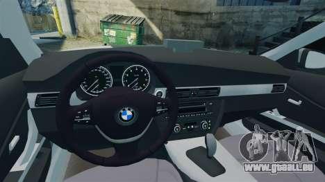 BMW 330i Touring Metropolitan Police [ELS] für GTA 4 Innenansicht