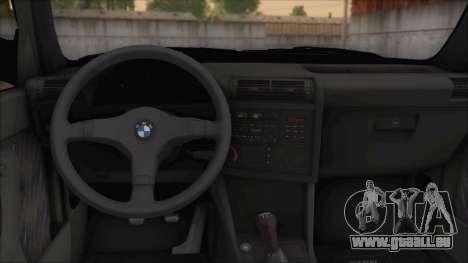 BMW M5 E30 pour GTA San Andreas vue de droite