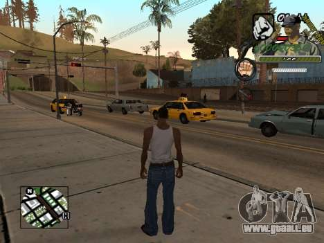 C-Hud Army by Enrique Rueda für GTA San Andreas