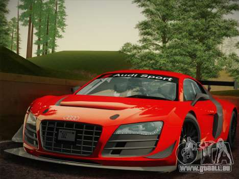 Audi R8 LMS Ultra W-Racing Team Vinyls für GTA San Andreas