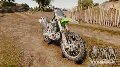 Kawasaki KX250F Monster Energy für GTA 4
