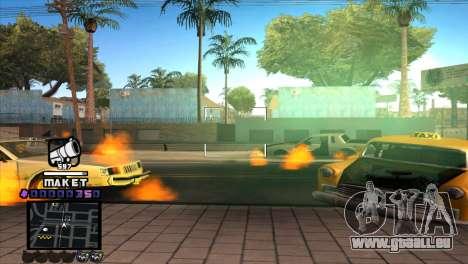 C-HUD Maket für GTA San Andreas dritten Screenshot