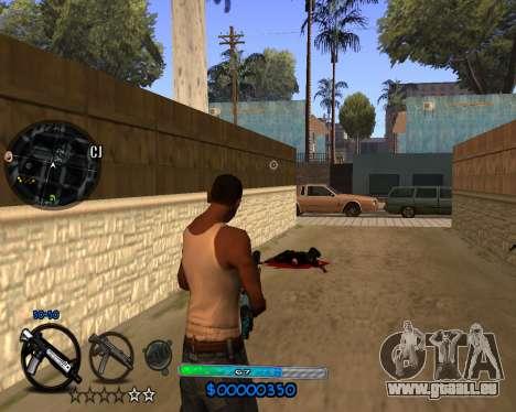 C-HUD by Vadya für GTA San Andreas dritten Screenshot