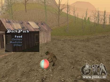Rucksack 2.0 für GTA San Andreas zweiten Screenshot
