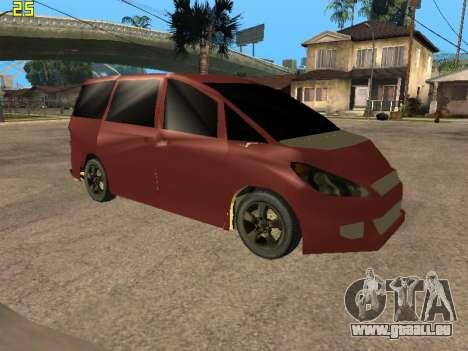Toyota Estima 2wd pour GTA San Andreas