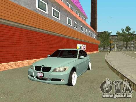 BMW M3 E90 pour GTA San Andreas