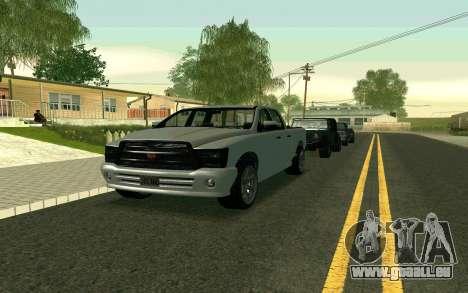 GTA V Bison Version 2 FIXED für GTA San Andreas linke Ansicht
