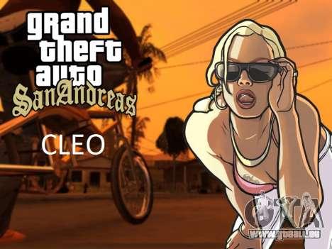 Le CLEO bibliothèque pour Android à partir de 04.01.2014 pour GTA San Andreas Android