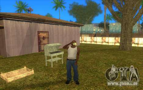 Barbecue für GTA San Andreas her Screenshot