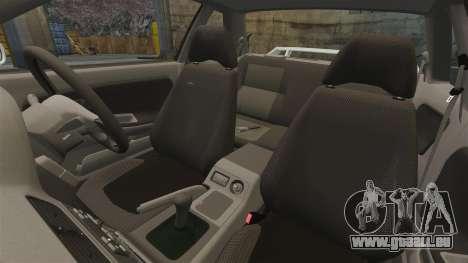 Nissan Onevia S13 [EPM] pour GTA 4 vue de dessus
