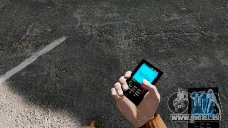 Aqua Blue theme pour votre téléphone pour GTA 4