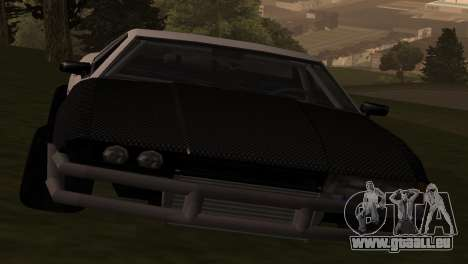 Elegy OriginalDrift pour GTA San Andreas sur la vue arrière gauche