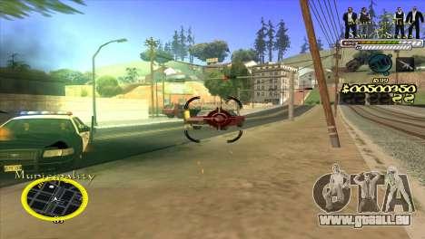 C-HUD Municipality für GTA San Andreas dritten Screenshot