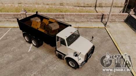 Benson Heavy für GTA 4 Innenansicht