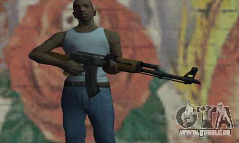 AK47 de L4D pour GTA San Andreas troisième écran