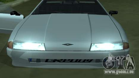Elegy 280sx pour GTA San Andreas vue de dessous