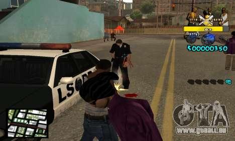 Vagos C-Hud pour GTA San Andreas troisième écran