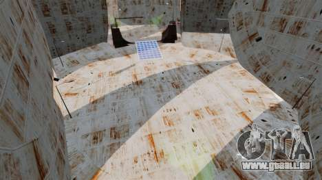 Zwei-Etagen-arena für den Rennsport Zerstörung v für GTA 4