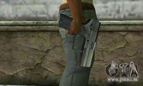 Colt 45 из Postal 3 für GTA San Andreas dritten Screenshot