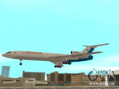 Tu-154 B-2 SCC Russland für GTA San Andreas linke Ansicht
