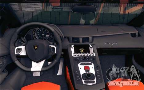 Lamborghini Aventador LP 700-4 pour GTA San Andreas vue de droite