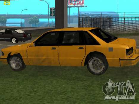 Premier 2012 pour GTA San Andreas vue de droite