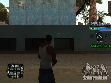 C-HUD by Powwer pour GTA San Andreas deuxième écran