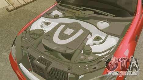 Mercedes-Benz S65 (W221) AMG pour GTA 4 est une vue de l'intérieur