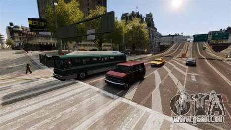 Die realen Verkehr für GTA 4 dritte Screenshot