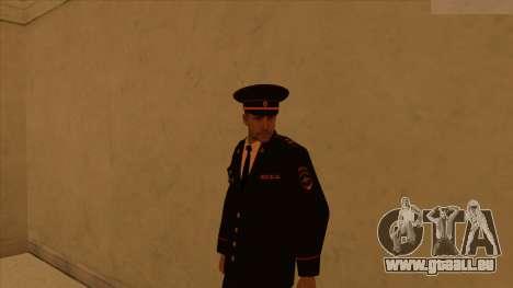 Les peaux de la police et de l'armée pour GTA San Andreas huitième écran