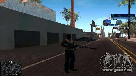 C-Hud Niko für GTA San Andreas