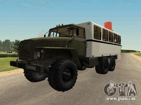 Oural 32551-0011 Regarder pour GTA San Andreas