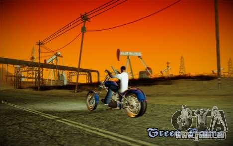 ENBSeries pour la faiblesse du PC pour GTA San Andreas cinquième écran