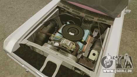 Dodge Polara 1971 pour GTA 4 est une vue de l'intérieur