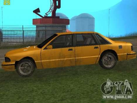 Premier 2012 pour GTA San Andreas sur la vue arrière gauche