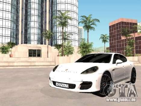 Porsche Panamera 2011 für GTA San Andreas