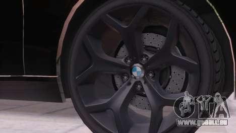 BMW 750Li E66 für GTA San Andreas obere Ansicht