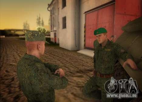 L'armée russe moderne pour GTA San Andreas troisième écran