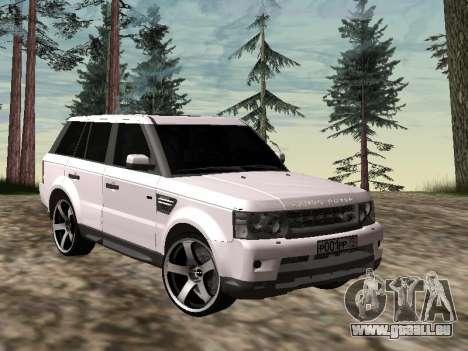 Range Rover Sport 2011 pour GTA San Andreas