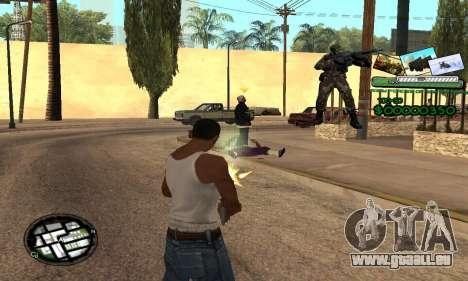 C-HUD Army Troops für GTA San Andreas dritten Screenshot