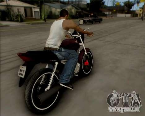 Honda Titan pour GTA San Andreas vue de droite