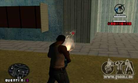 C-HUD Quentin pour GTA San Andreas troisième écran