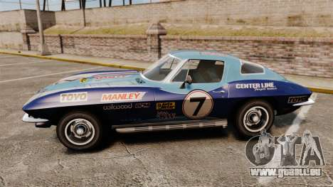 Chevrolet Corvette C2 1967 pour GTA 4 est une gauche
