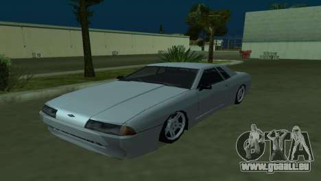 Elegy 280sx pour GTA San Andreas vue arrière