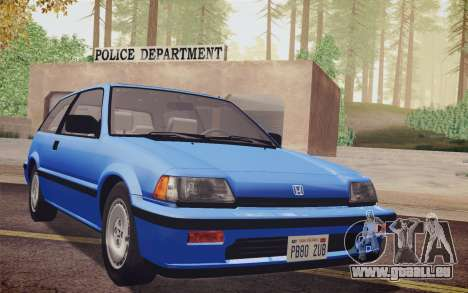 Honda Civic S 1986 IVF pour GTA San Andreas