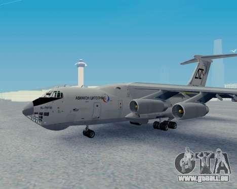 Il-76TD Aviacon zitotrans pour GTA San Andreas