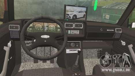 VAZ-2107 Donk Style pour GTA 4 est un côté